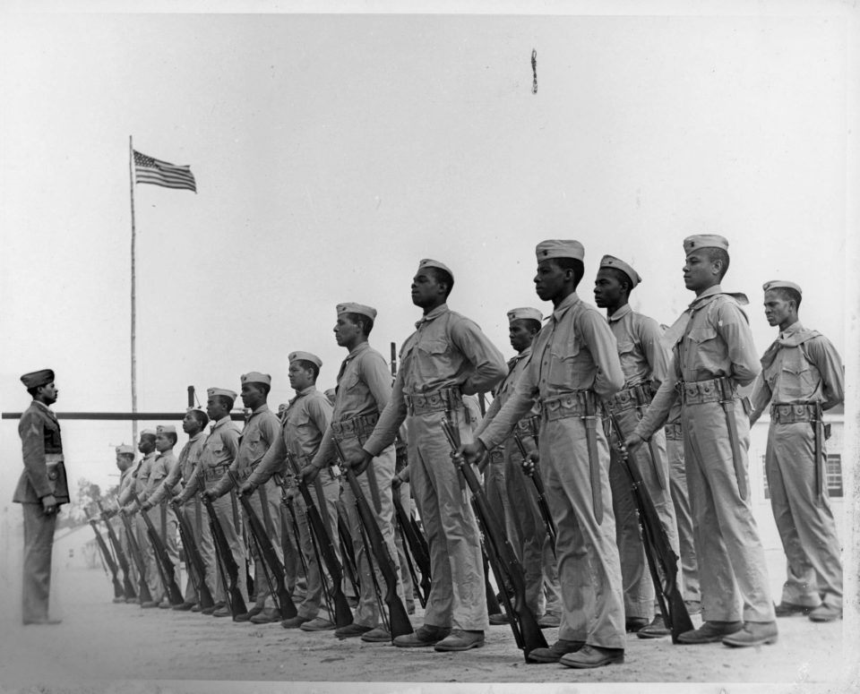 Photolibrary-recruitsatparaderest-highres-2892x2335-960x775 Black Southern Belle History - Montford Point Marines in Jacksonville, NC