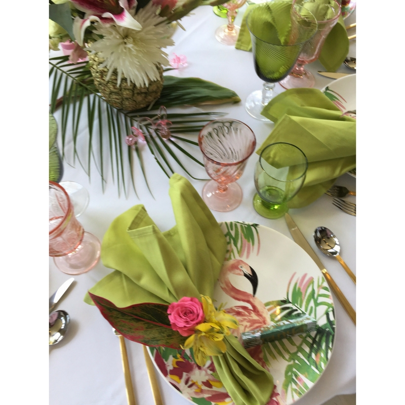 1-5 Tropical Inspired  Baby Shower -  5 Tips for Creating a Coastal ChicA�Inspired Party