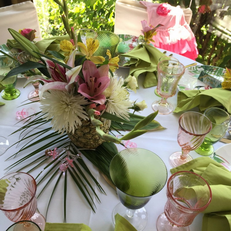 11-2 Tropical Inspired  Baby Shower -  5 Tips for Creating a Coastal ChicA�Inspired Party