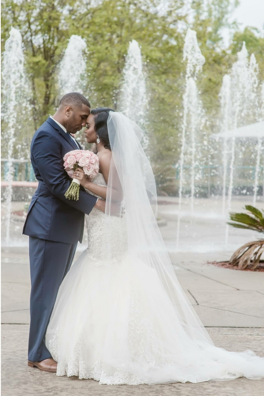 2-1 Pretty in Pink Hattiesburg, Mississippi Wedding