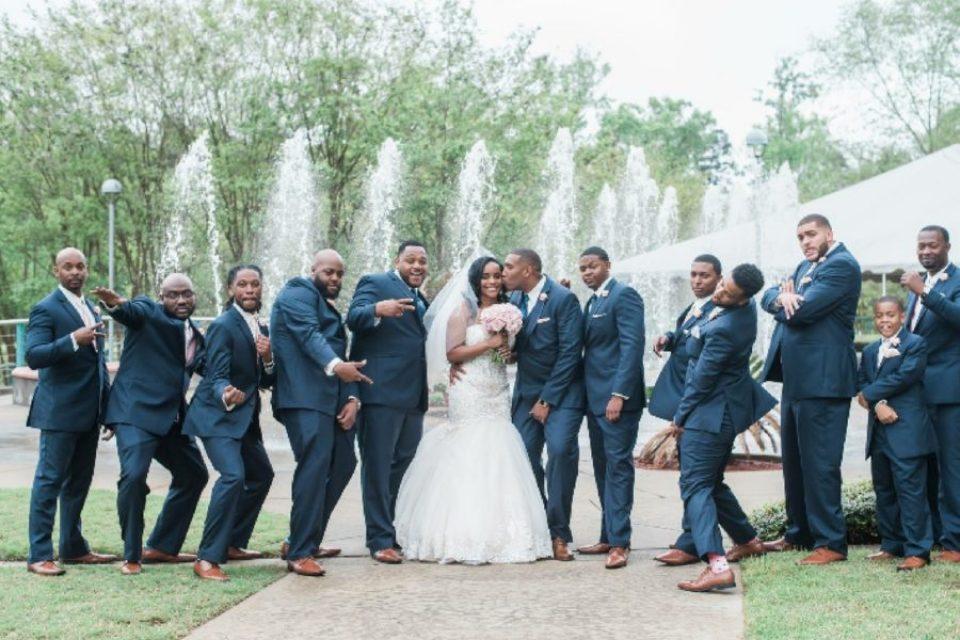 8-960x640 Pretty in Pink Hattiesburg, Mississippi Wedding