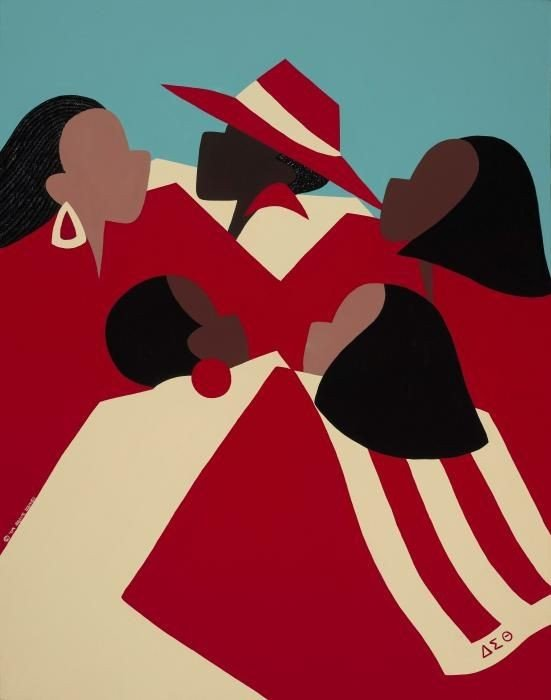0336b4ebe34881fcc9e9924ed709d8c9 Our Favorite Pieces of African American Sorority Art