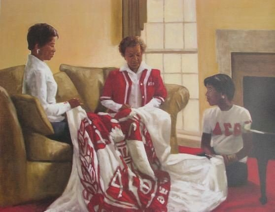 350f04219818e0b6f7b823f49640ac91 Our Favorite Pieces of African American Sorority Art