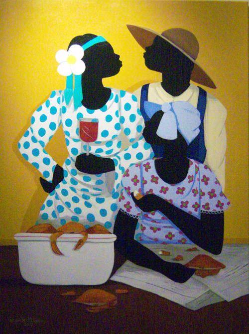 Gullah_Art_Cassandra_Gillens_3 16 Pieces of Gullah Art to Add Your Gallery Wall