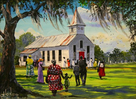 Gullah_Art_John_Jones 16 Pieces of Gullah Art to Add Your Gallery Wall