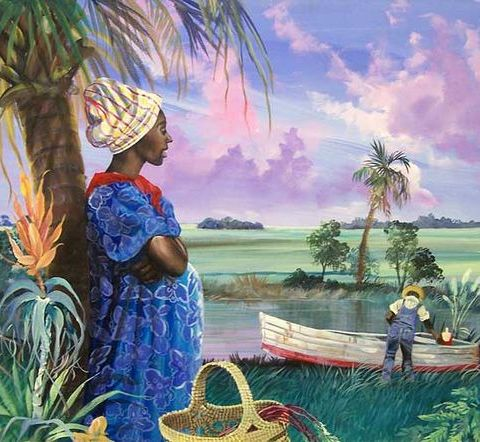 Gullah_Art_John_Jones_2-480x442 16 Pieces of Gullah Art to Add Your Gallery Wall