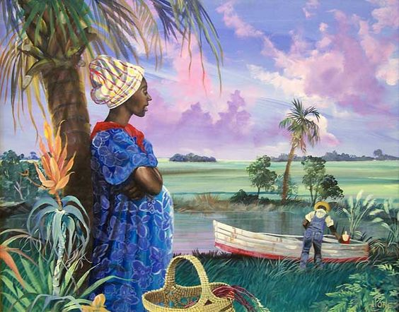 Gullah_Art_John_Jones_2 16 Pieces of Gullah Art to Add Your Gallery Wall