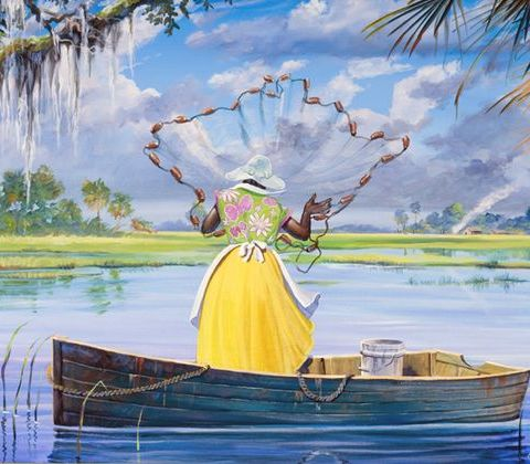 Gullah_Art_John_Jones_4-480x420 16 Pieces of Gullah Art to Add Your Gallery Wall