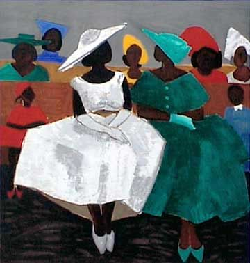 Gullah_Art_Jonathan_Green_3 16 Pieces of Gullah Art to Add Your Gallery Wall
