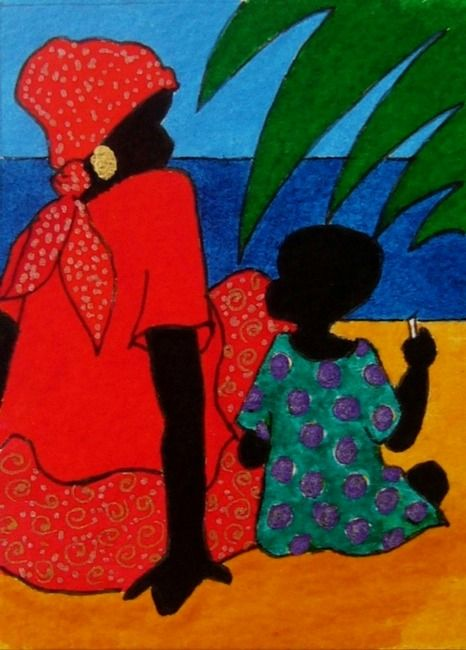 Gullah_Art_Tessa_Edwards_2 16 Pieces of Gullah Art to Add Your Gallery Wall