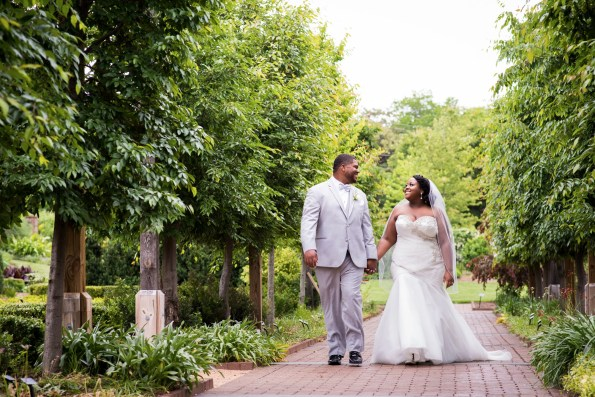 Janlynn-Charles-Young-Wedding-Collection_302-595x397 Kernersville, NC Wedding with Garden Style