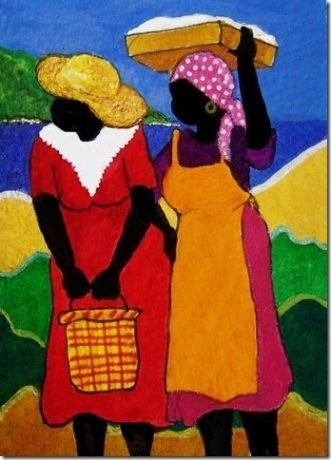 5e1dc75ff84c687cd05c5d68beca6d4e 16 Images of Black Sisterhood Through Gullah Art