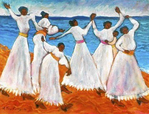 886593f28ff8d30f00e3a9767b5f162d-480x368 16 Images of Black Sisterhood Through Gullah Art