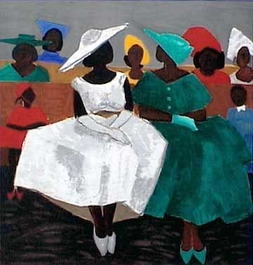 f3c3be0b9fdc23ea42ab4efbd59a0d07 16 Images of Black Sisterhood Through Gullah Art