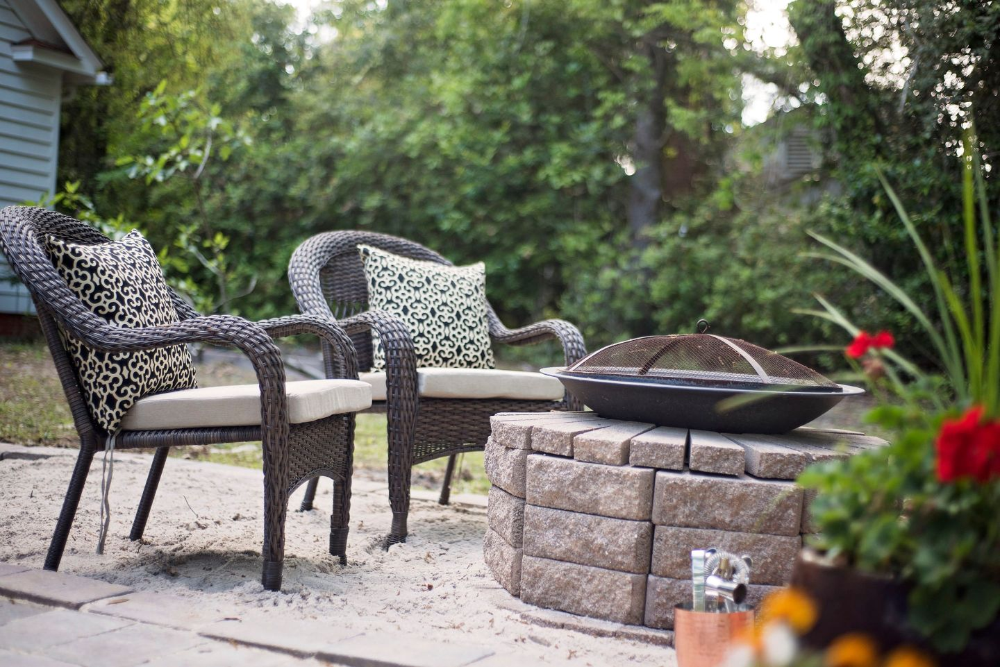 Southern Inspired, Spring Patio Fun with Home Depot
