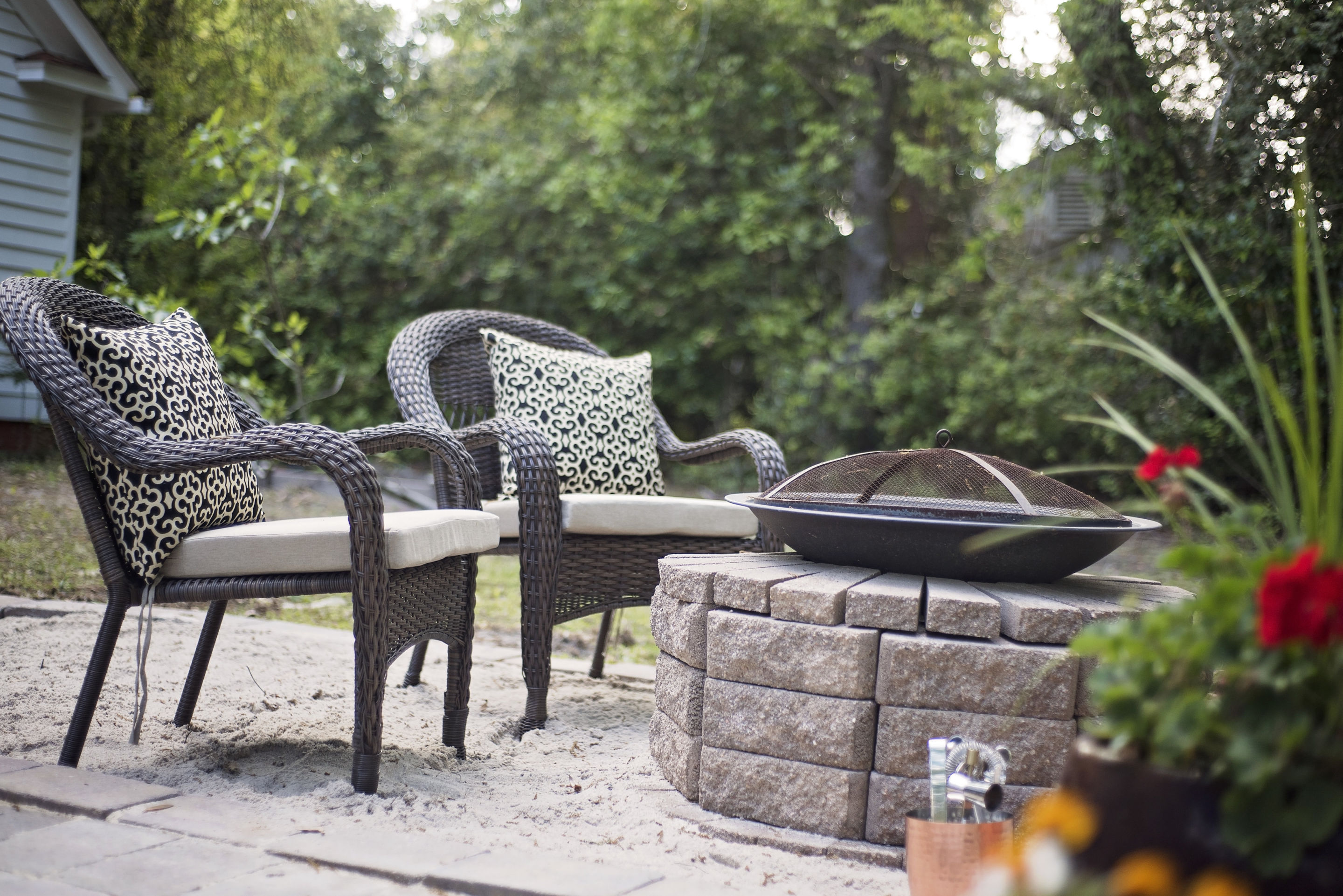 Attirant Southern Inspired, Spring Patio Fun With Home Depot