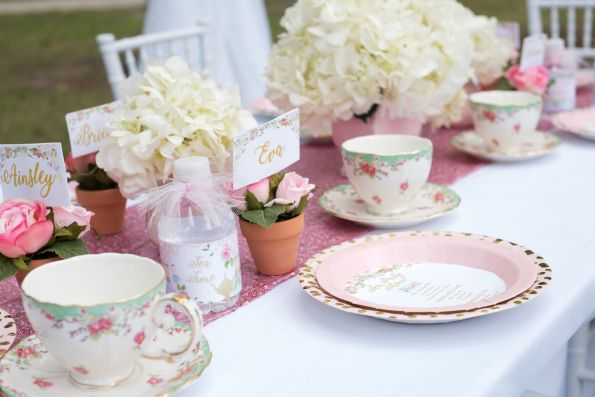 TeaParty-12-595x397 Children's Tea Party Inspiration - How to Plan a Child's Party with a Photographer