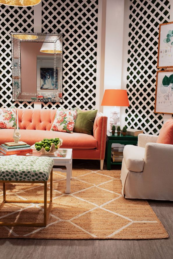 ROWE_HPMKTApril18-14-595x893 AKA Home Decor Inspiration: Pink and Green Style