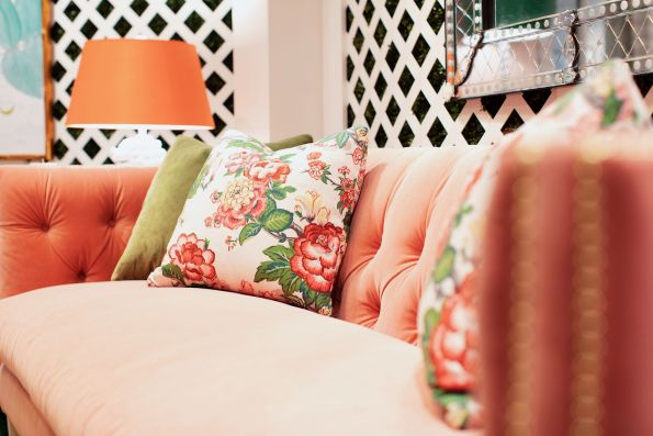 ROWE_HPMKTApril18-26-1-595x397 AKA Home Decor Inspiration: Pink and Green Style