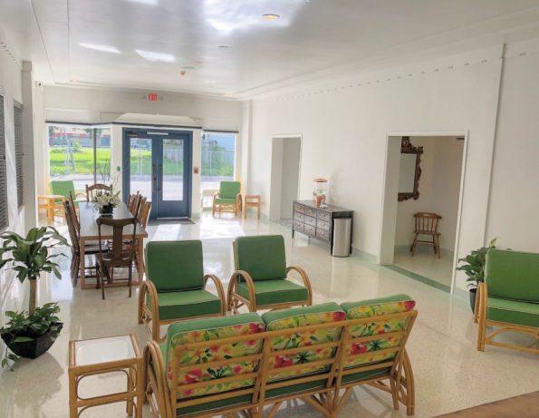 LOBBY-1-595x461 Designer Tour: Black-Owned Hotel in Miami - The Copper Door B&B