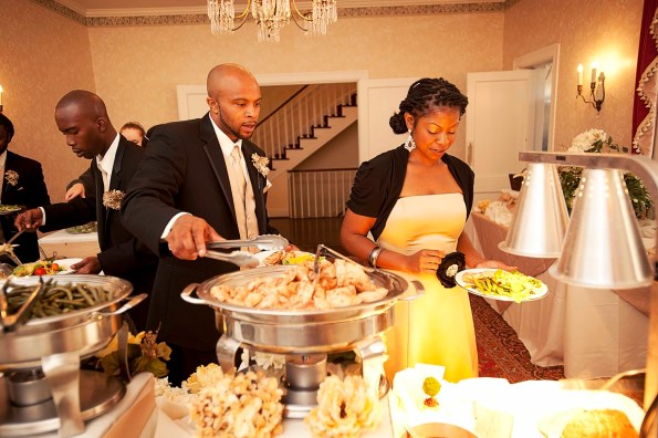 Penn-House-Reception-595x396 Southern Wedding Inspiration in Reidsville, NC