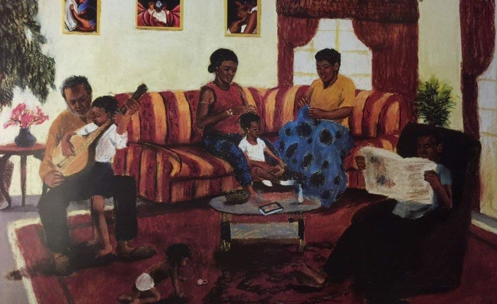 Priceless-Moments-Family-Dennis-Jinguo-Dai--980x600 Black Family Art Pieces to Add to Your Home