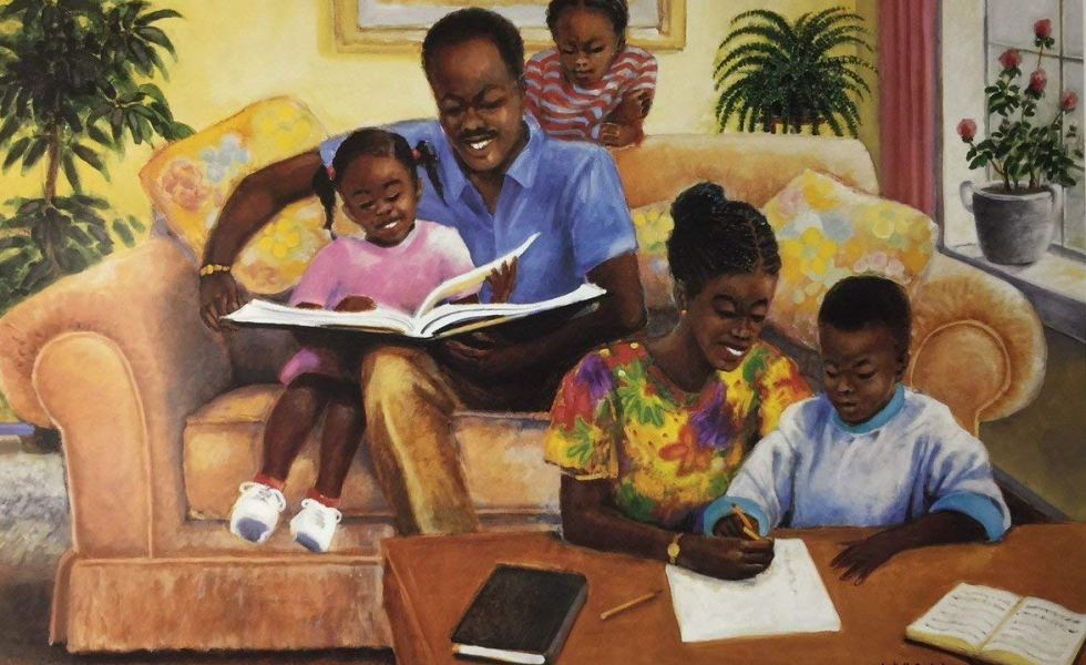 Quality-Time-Family-Arthello-Beckjr-18.5x26.75-Unframed-African-American-Black-Art-Print-Wall-Decor-Poster-980x600 Black Family Art Pieces to Add to Your Home