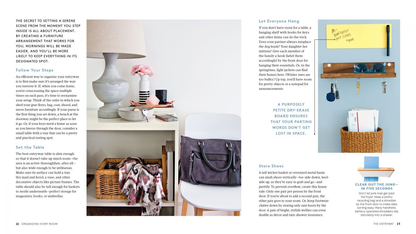 RS_OER_01_Entryway_22-23 How to Organize Your Home with Help from REAL SIMPLE Editors