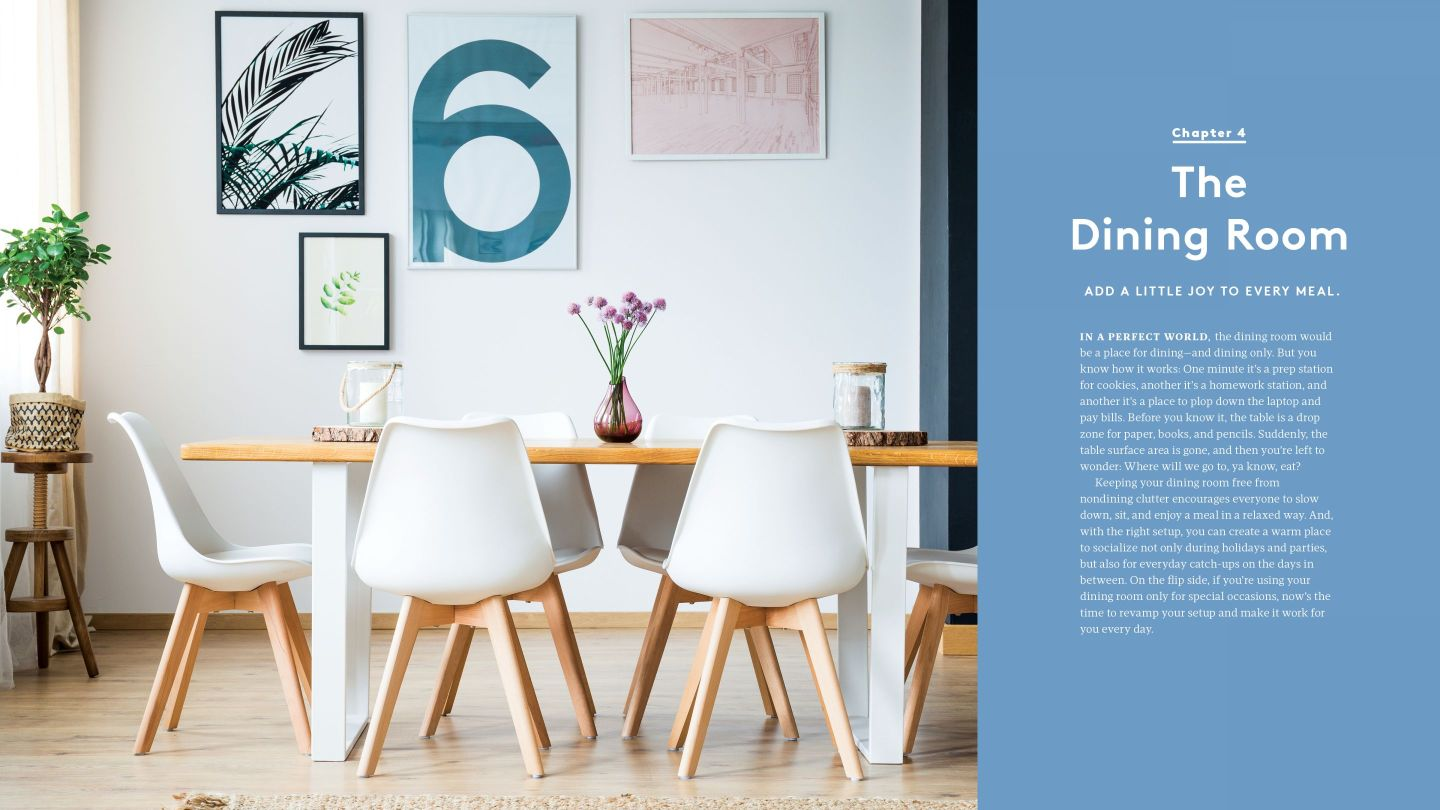 RS_OER_04_DiningRoom_92-93 How to Organize Your Home with Help from REAL SIMPLE Editors