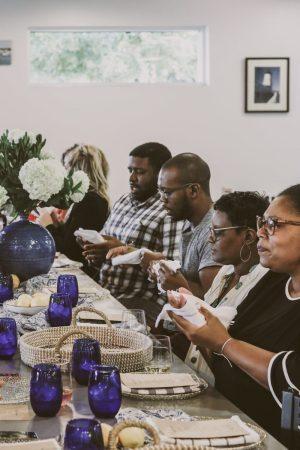 TTE-PaellaParadise-7195-300x450 North Carolina Seafood: Paella Paradise with The Table Experience