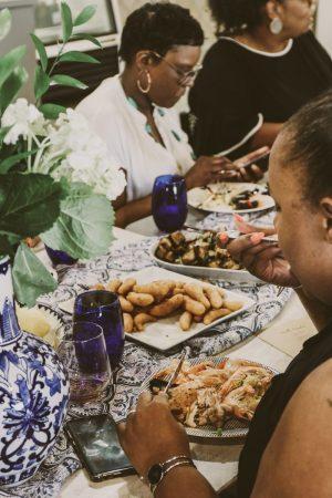 TTE-PaellaParadise-7333-300x450 North Carolina Seafood: Paella Paradise with The Table Experience