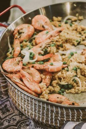 TTE-PaellaParadise-7335-300x450 North Carolina Seafood: Paella Paradise with The Table Experience