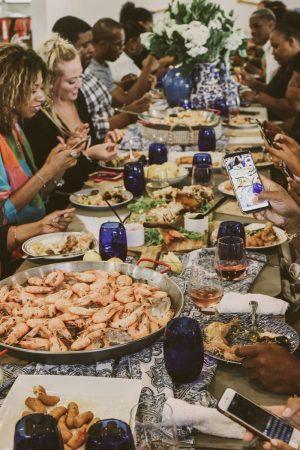 TTE-PaellaParadise-7349-300x450 North Carolina Seafood: Paella Paradise with The Table Experience