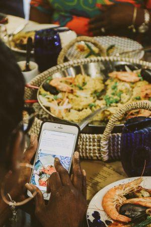 TTE-PaellaParadise-7373-300x450 North Carolina Seafood: Paella Paradise with The Table Experience