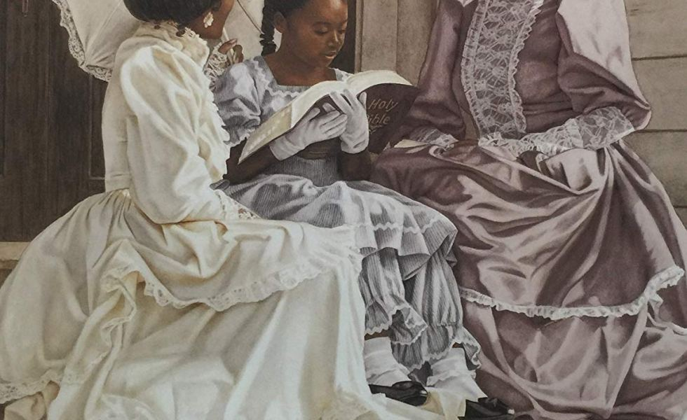 Three-Generations-Ladies-With-Black-Girl-M.Byers--980x600 Black Family Art Pieces to Add to Your Home
