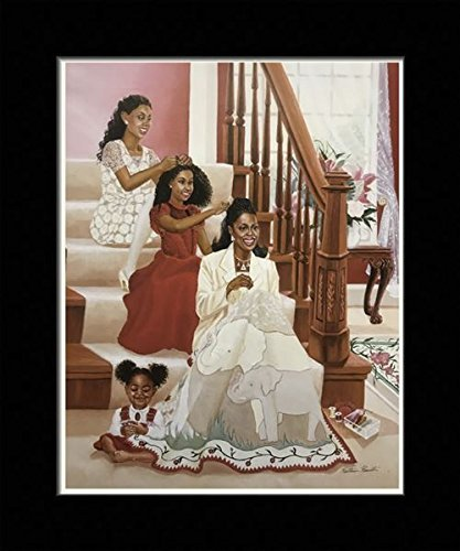 US-Art-Black-1.5-inch-Framed-with-DELTA-LEGACY-AFRICAN-AMERICAN-ARTSORORITY-DELTA-COLLECTION-8x10-Inch-KATHERINE-ROUNDTREE-Print-Poster-X78-810-B Black Art from Katherine Roundtree We Love