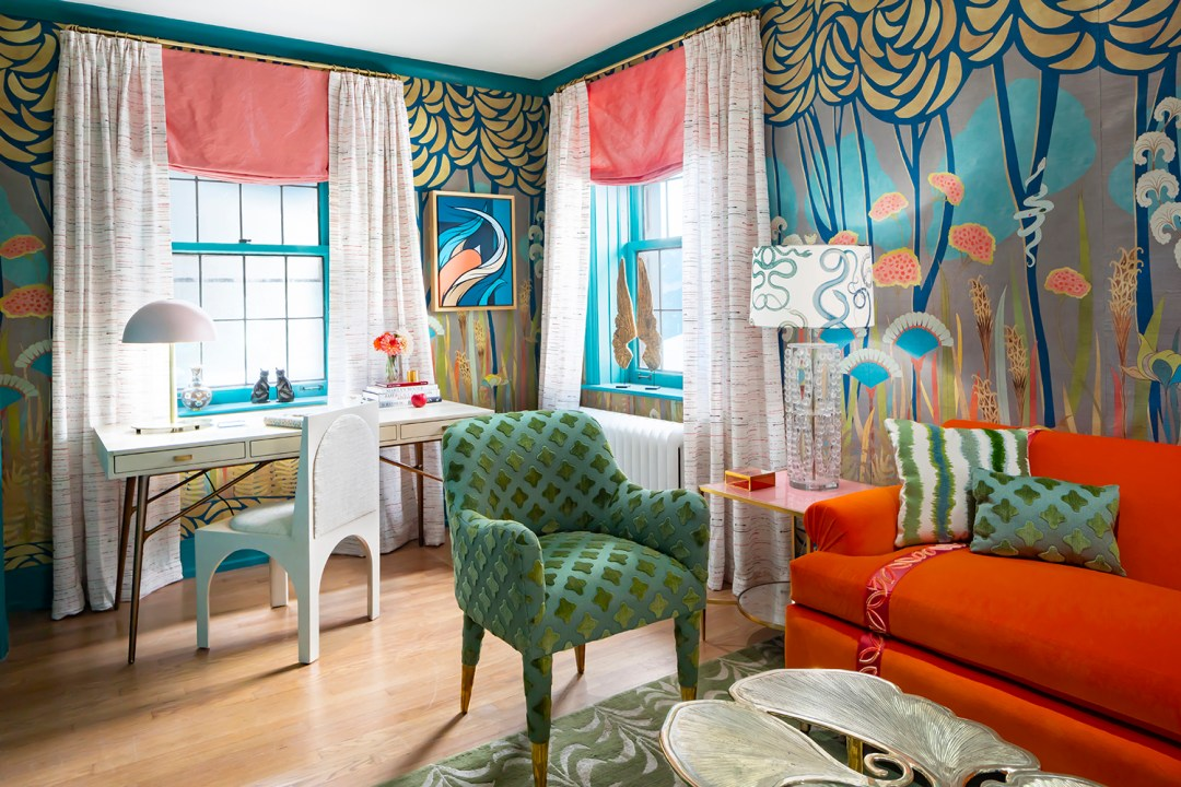 Courtney-McLeod-RMLID-JL-Showhouse_01 Tips for Adding Color and Pattern to a Room from a Louisiana Native