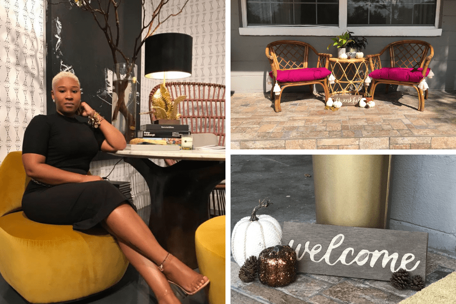 Tips for Styling Your Front Porch for Fall from a Jacksonville, FL Designer
