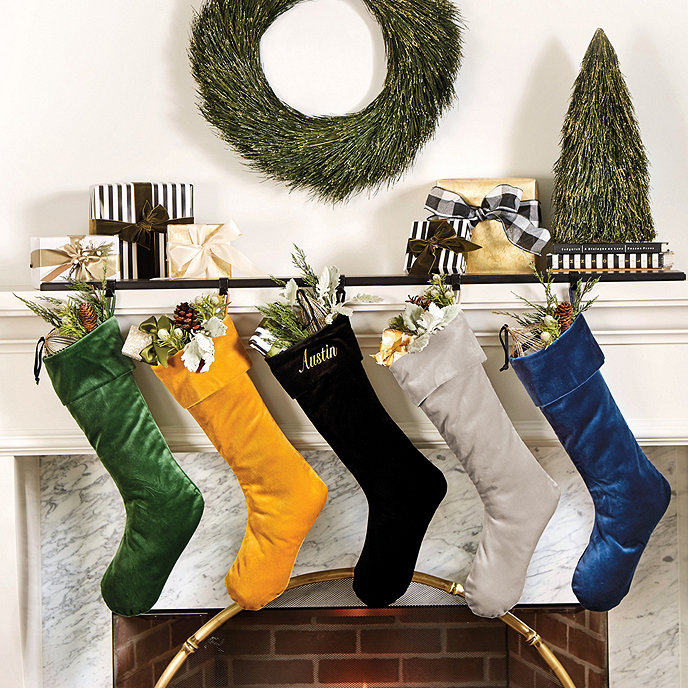 Velvet_Stockings Traditional Holiday Stockings You Must Add to Your Home