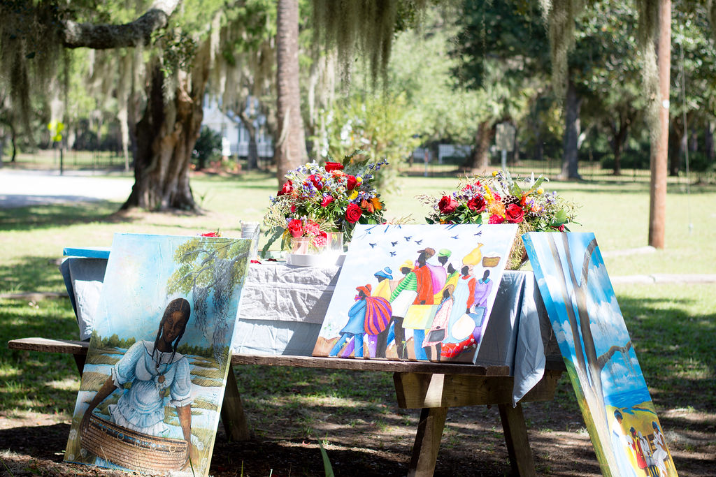 Lowcountry Travels: How to Host An Art Dinner Party: Gullah Inspiration at the Penn Center