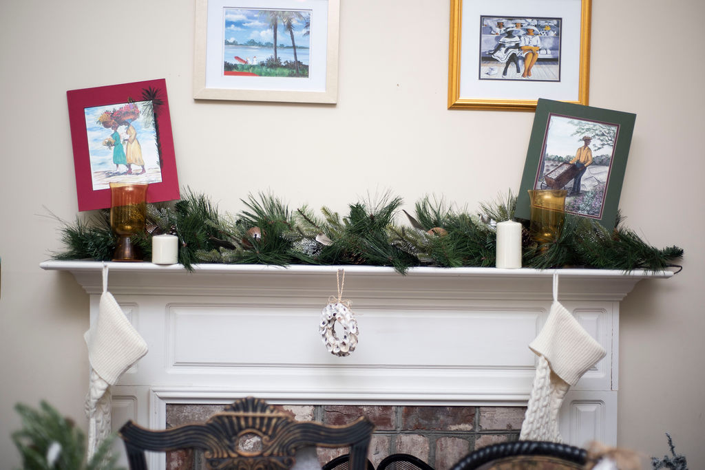 DSC_2574 Lowcountry Christmas: Oyster and Gullah Inspired Decor