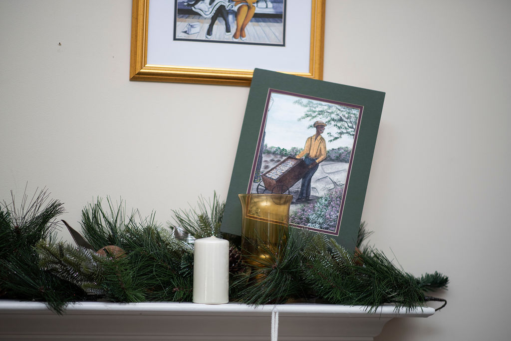 DSC_2577 Lowcountry Christmas: Oyster and Gullah Inspired Decor