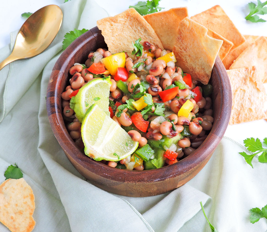 Healthy-Black-Eyed-Pea-Appetizers1 Healthy Black-Eyed Pea Appetizers for New Year's Eve