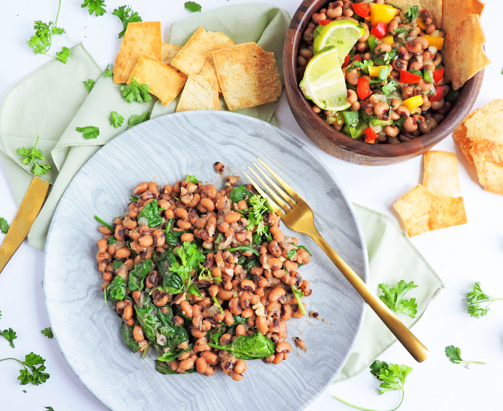 Healthy Black-Eyed Pea Appetizers for New Year's Eve