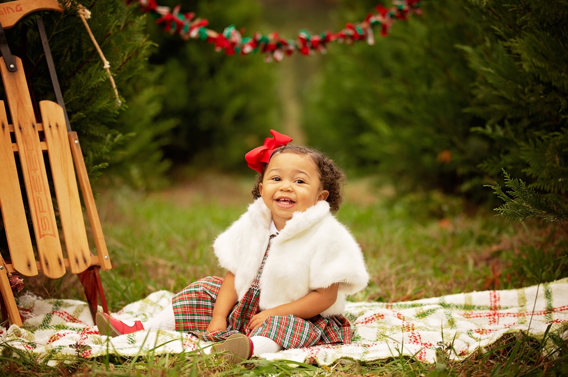 Black Southern Belle Baby Holiday Photos We Love