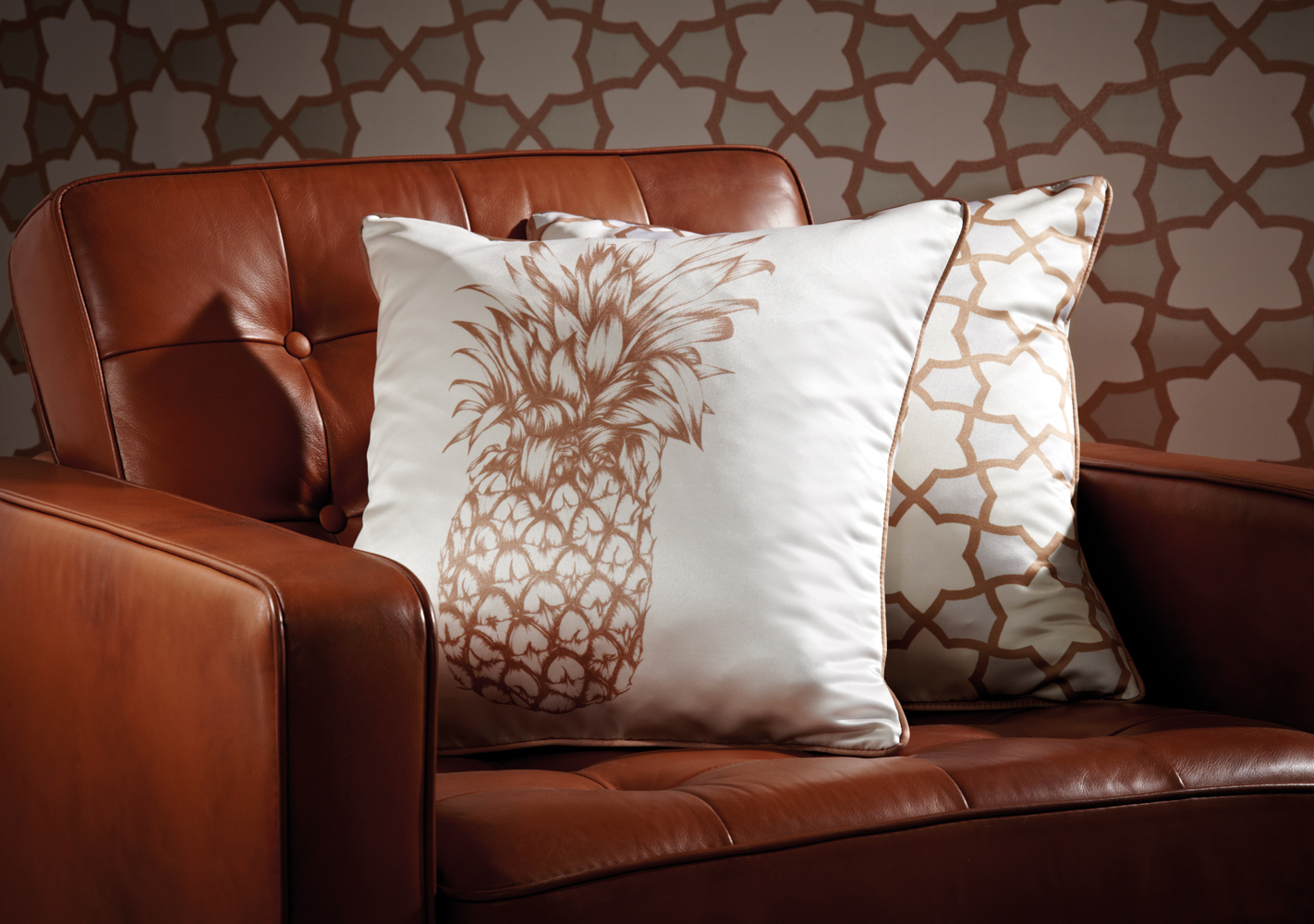ARTHOUSE-Arthouse-Copacabana-Gold-Cushion-1770288-1 Pineapple Decor: Tips for Decorating Your Home with Southern Hospitality