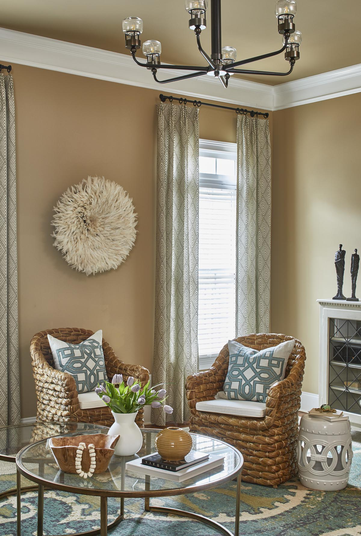 Erika_Ward_Livingroom5 Home Improvement Tips for the New Year from Black Southern Belle Design Mavens