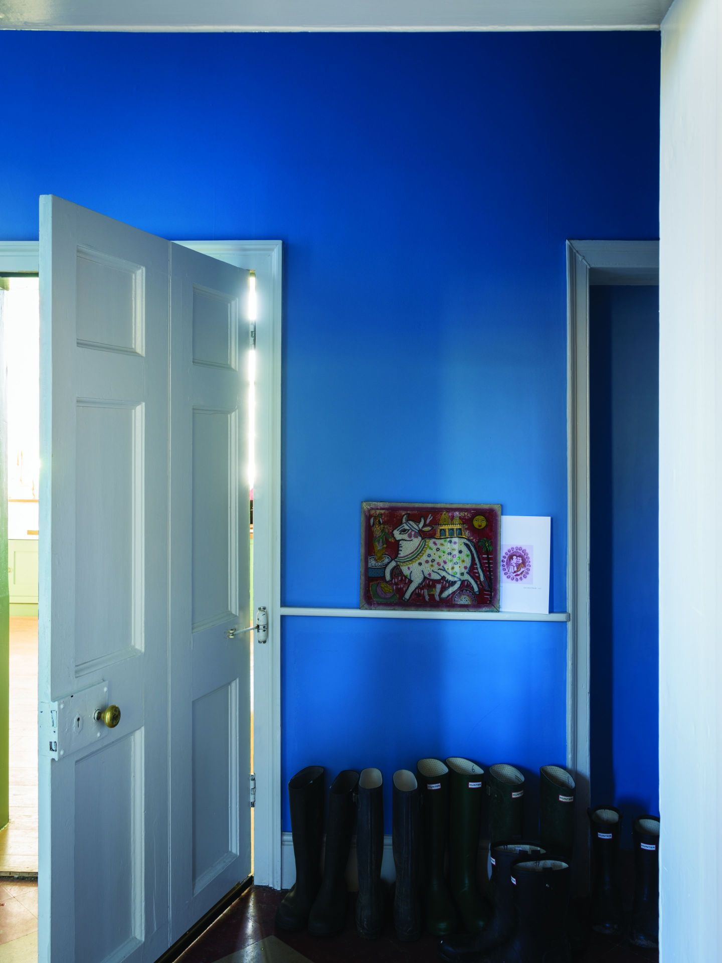 FarrowBall_1182368_CooksBlueHall.jpg-1440x1920 Paint Inspiration: 20 Colorful Rooms We Love