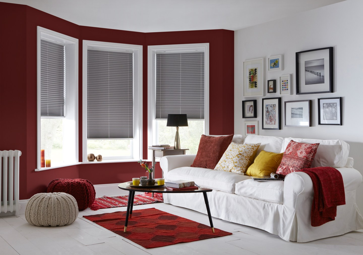 Living-Room-Blinds-Luxury-Grey-Pleated-Blinds-1440x1012 DST Home Decor Inspiration: Crimson and Cream Design Style