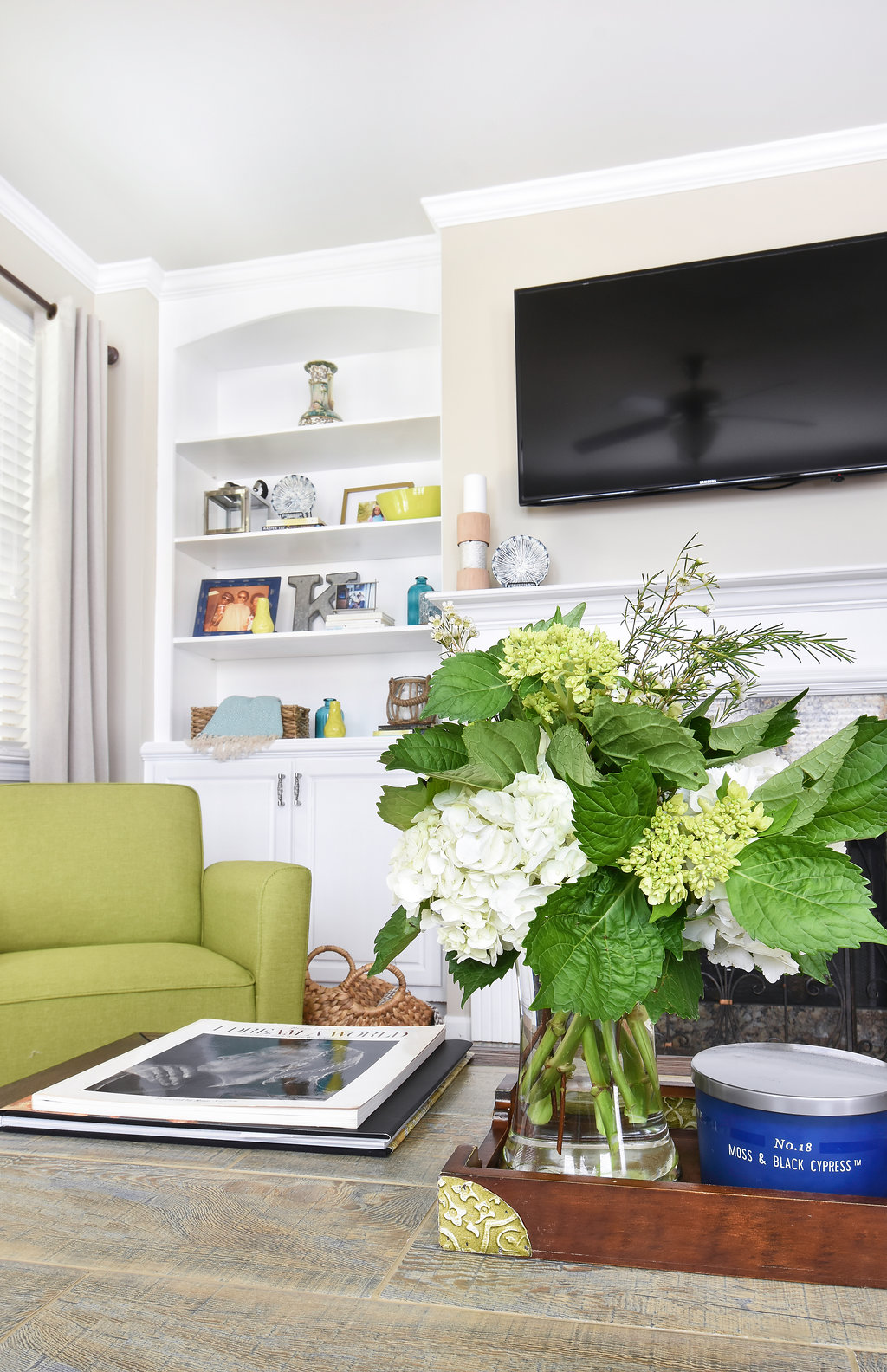 LivingRoomDetail_Flowers Design Inspiration with Atlanta, Ga Interior Designer, Faneisha Nibbs